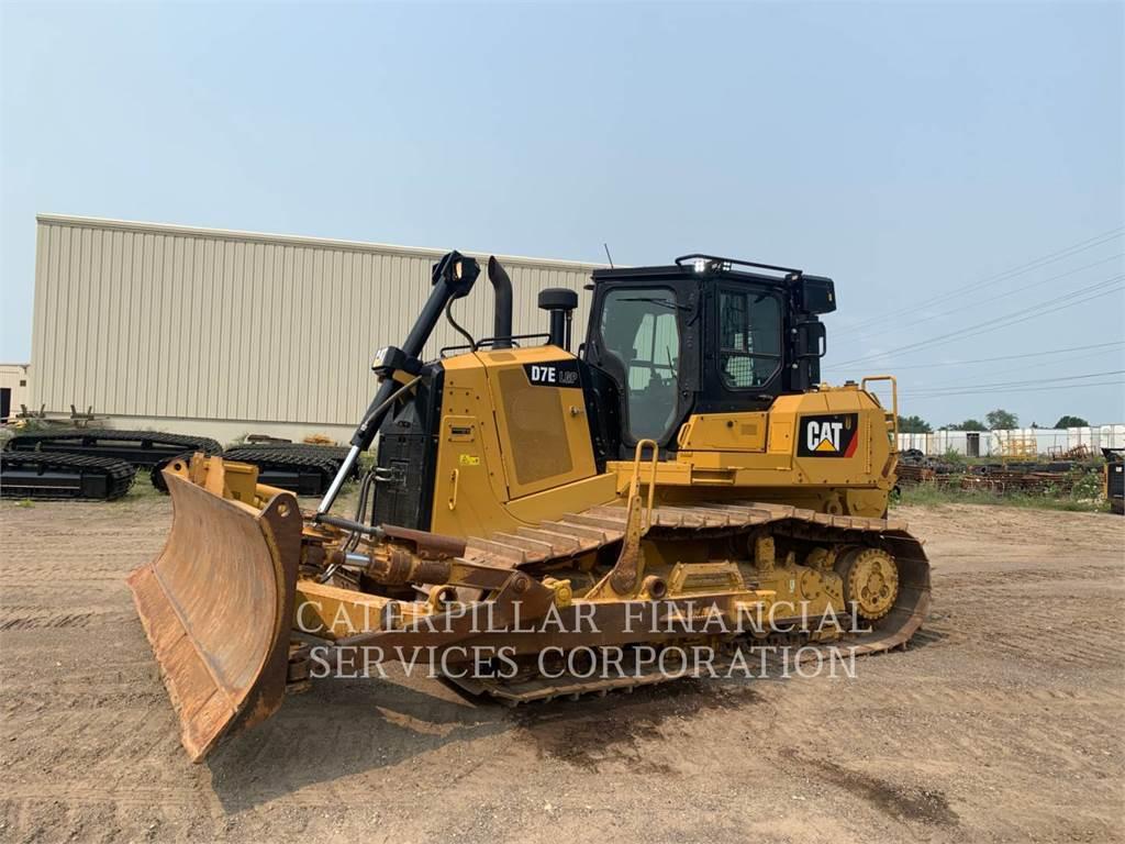Caterpillar D7ELGP, Crawler dozers, Construction