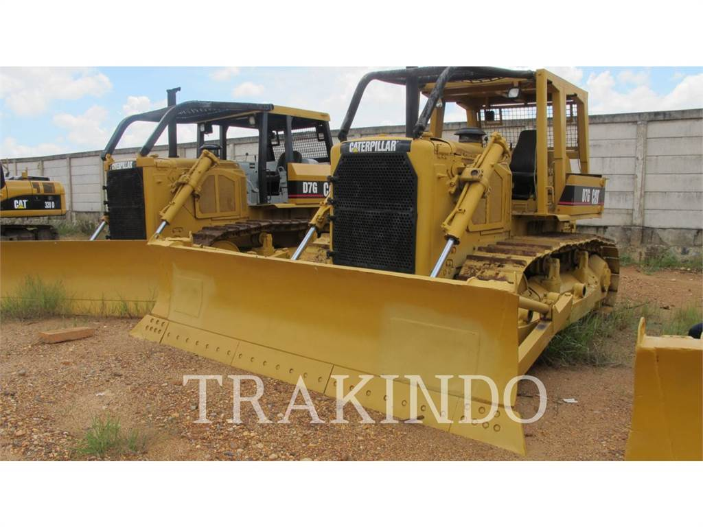 Caterpillar D7G, Dozers, Construction