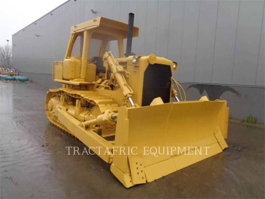 Caterpillar D7G, Tratores de rastos, Equipamentos Construção