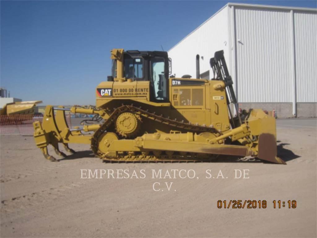 Caterpillar D7R, Dozers, Construction