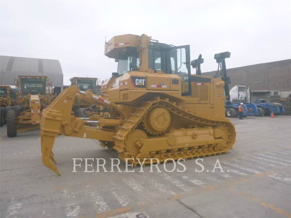 Caterpillar D7R、推土机、建筑设备
