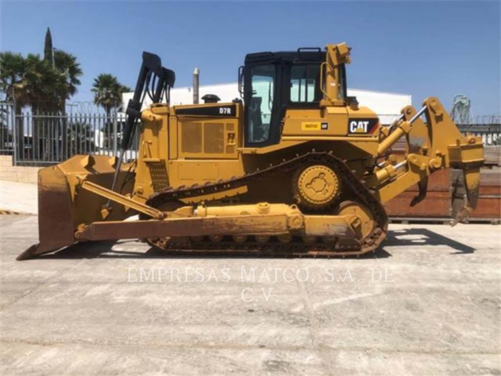 Caterpillar D7R, Crawler dozers, Construction
