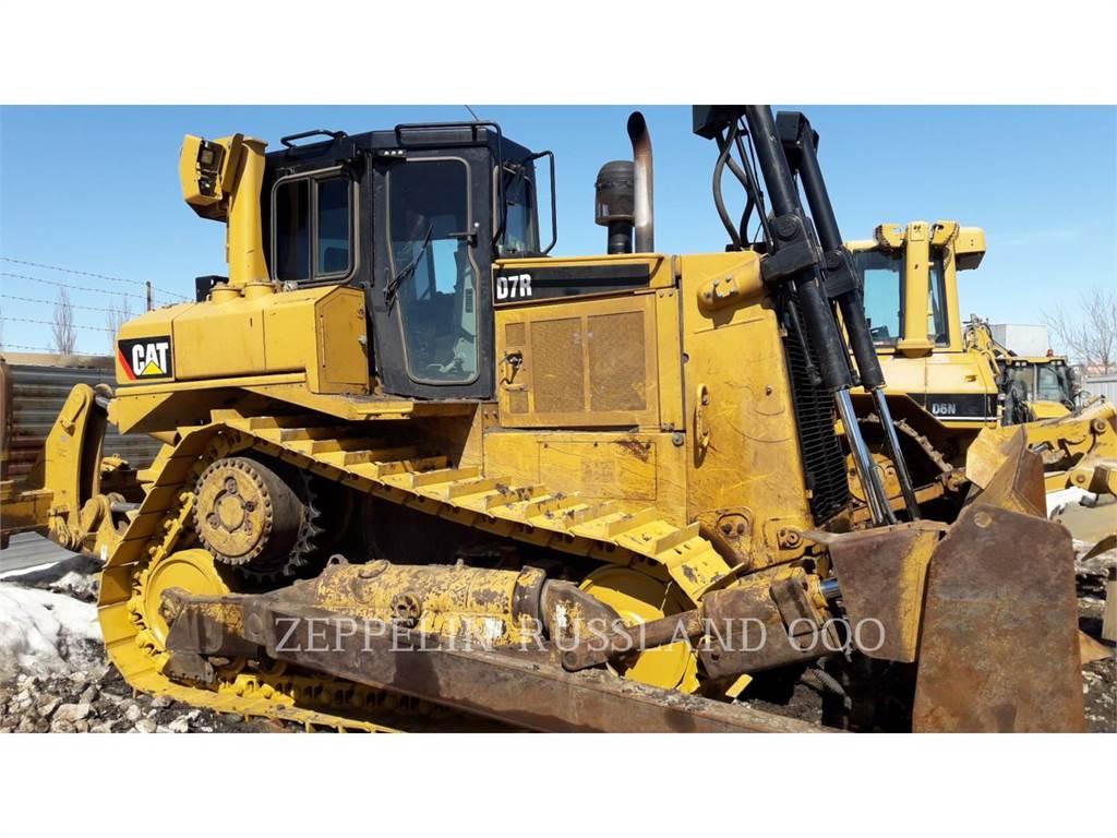 Caterpillar D7R, Bulldozers, Construcción