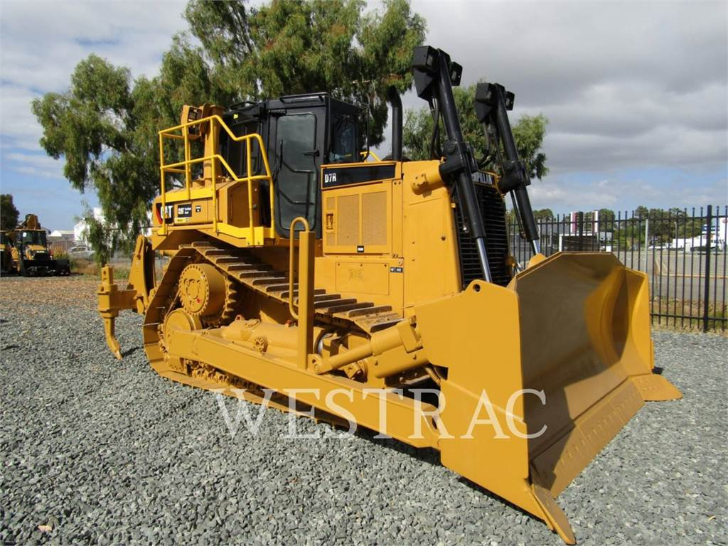 Caterpillar D7R, Bulldozer, Équipement De Construction