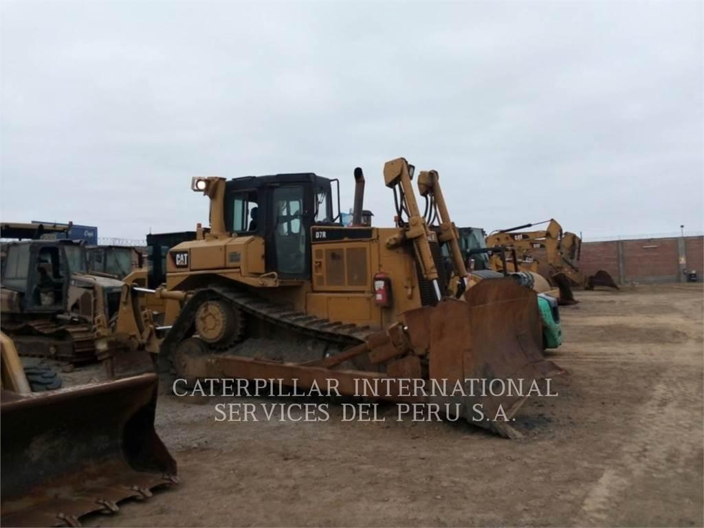Caterpillar D7RII, Bulldozers, Construcción