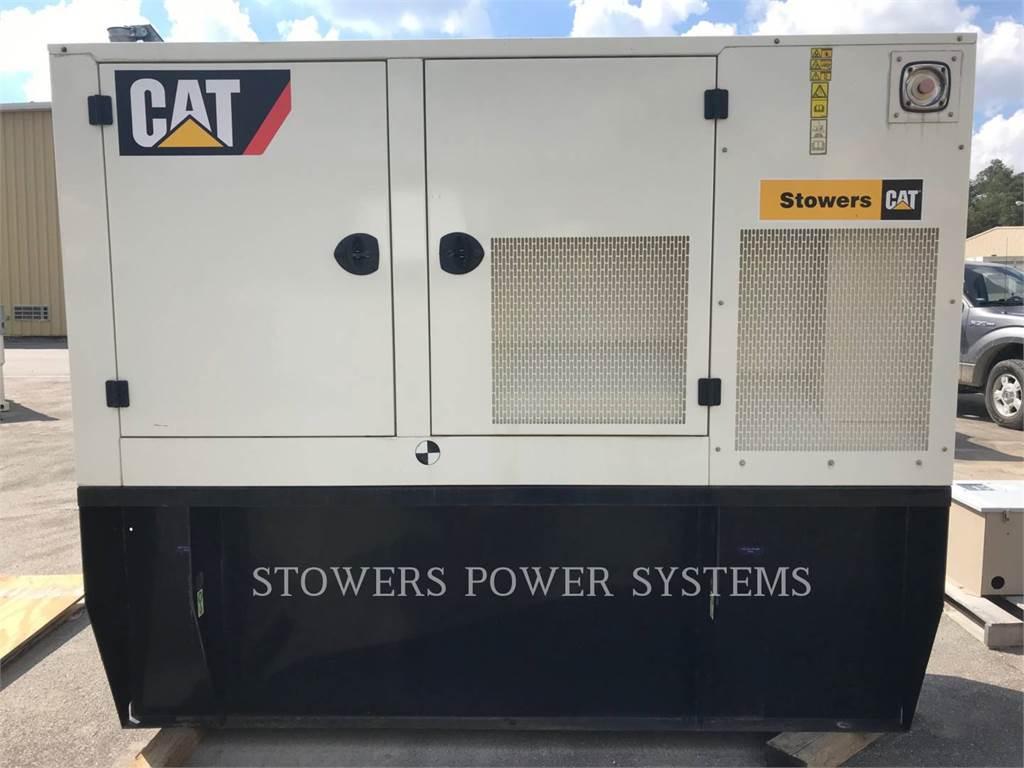 Caterpillar D80, Stationary Generator Sets, Construction