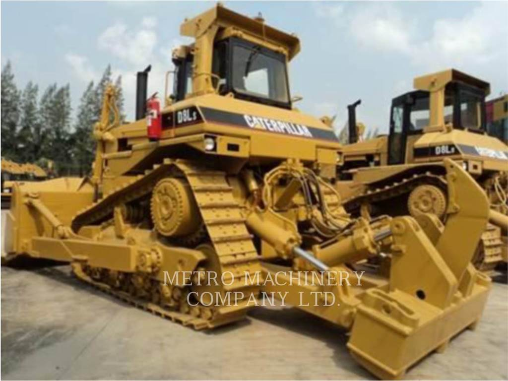 Caterpillar D8L, Crawler dozers, Construction