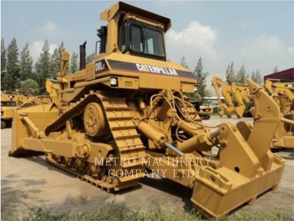 Caterpillar D8L, Crawler dozers, Construction