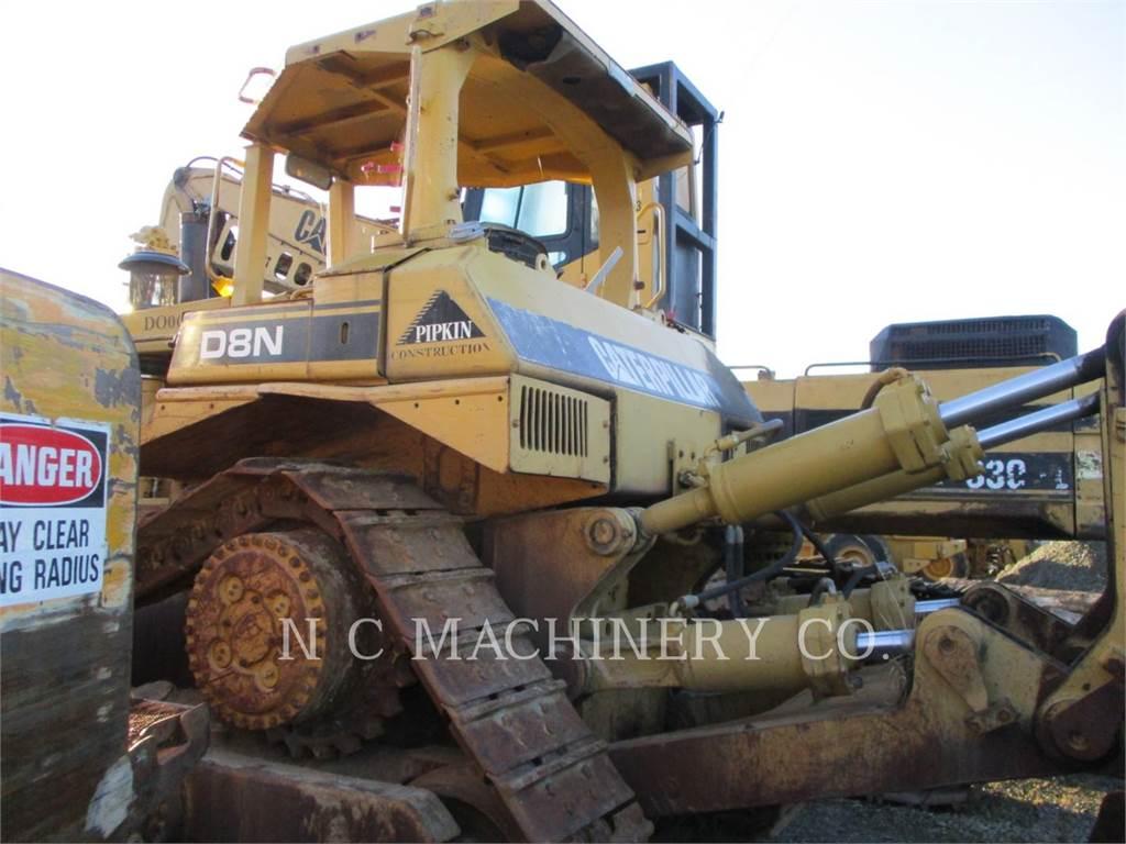 Caterpillar D8N, Bulldozers, Construcción