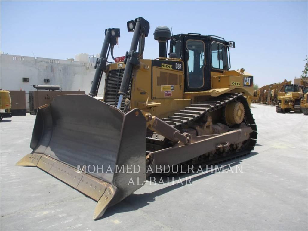 Caterpillar D8R, Tratores de rastos, Equipamentos Construção
