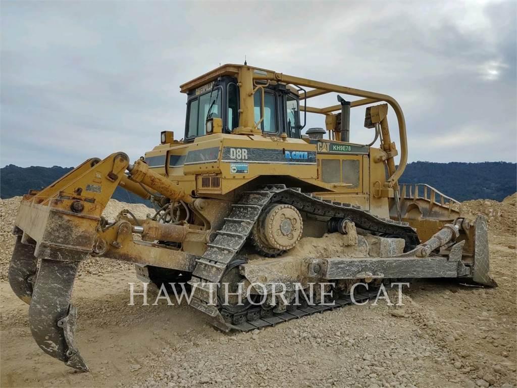 Caterpillar D8R II, Tratores de rastos, Equipamentos Construção