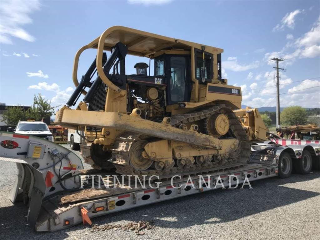 Caterpillar D8RLRC、推土机、建筑设备