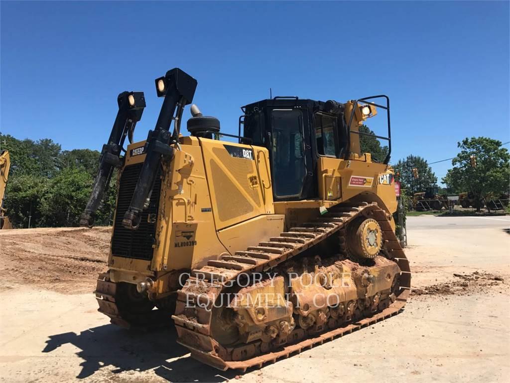 Caterpillar D8T、ブルドーザー、建設