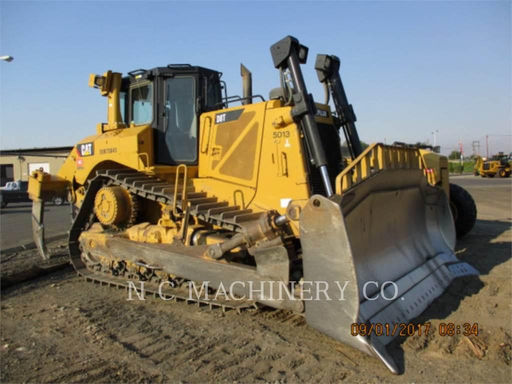 Caterpillar D8T, Spycharki, Sprzęt budowlany