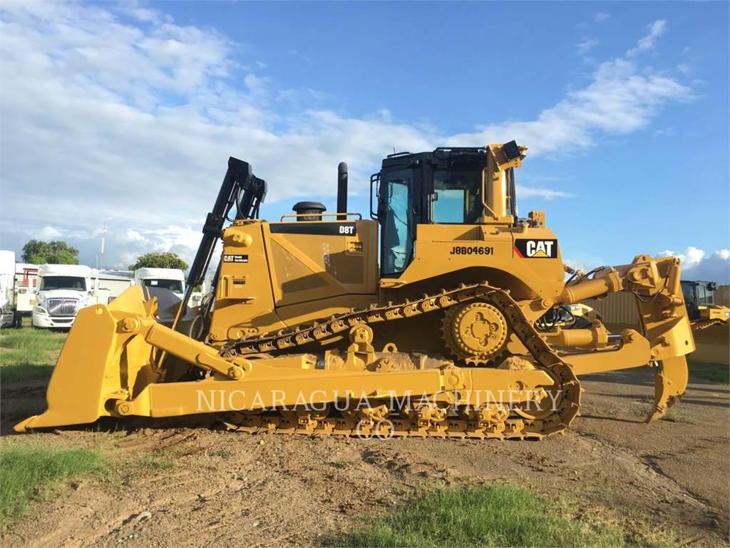 Caterpillar D8T, Bulldozers, Construcción