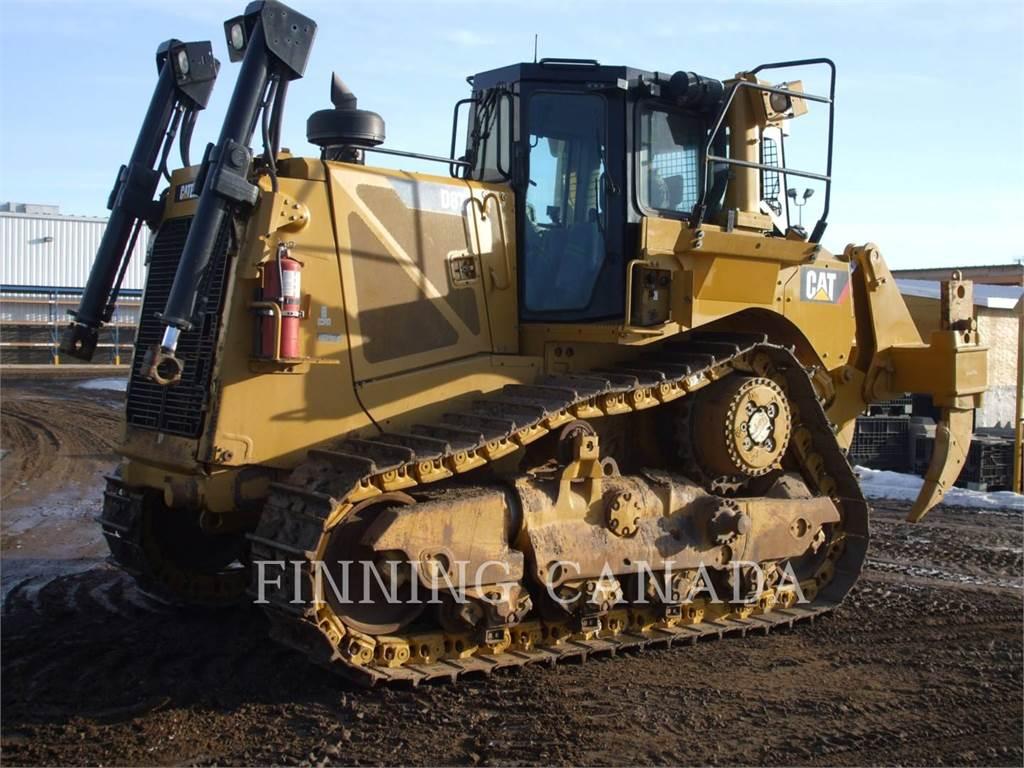 Caterpillar D8T、推土机、建筑设备