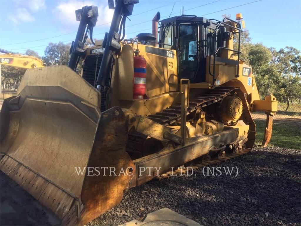 Caterpillar D8T, Tratores de rastos, Equipamentos Construção