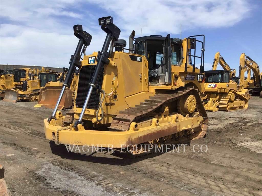 Caterpillar D8T AW, Crawler dozers, Construction