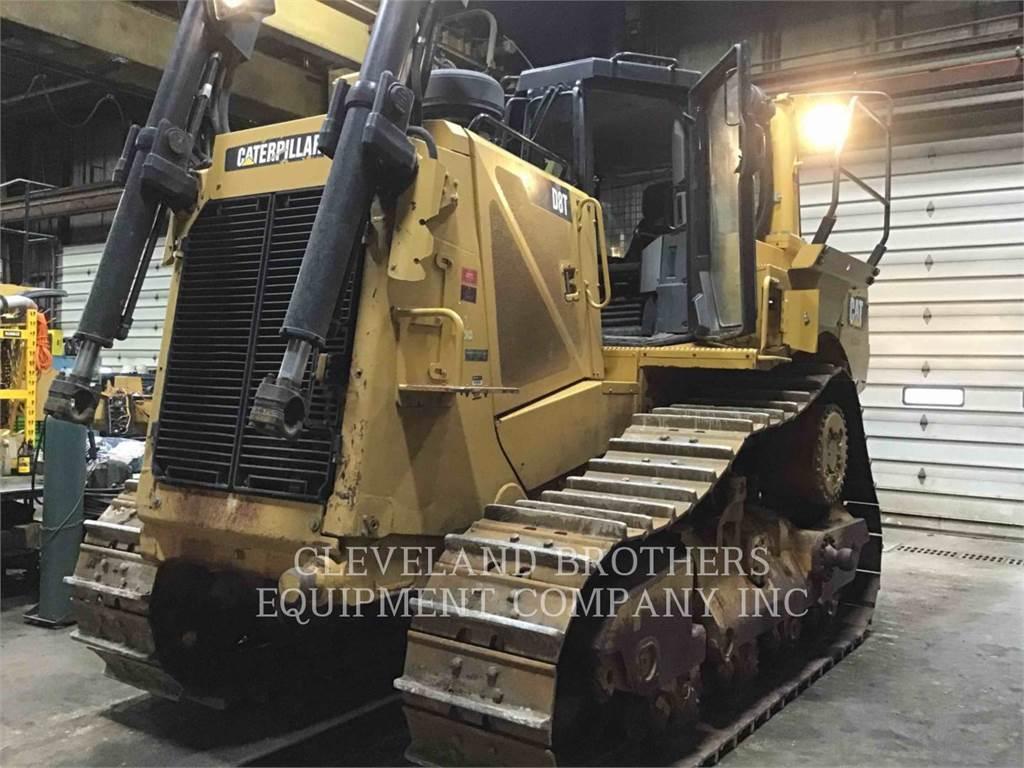 Caterpillar D8T R, Crawler dozers, Construction