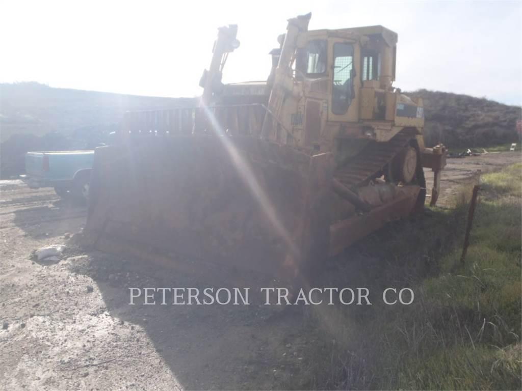 Caterpillar D9N, Buldozere, Constructii