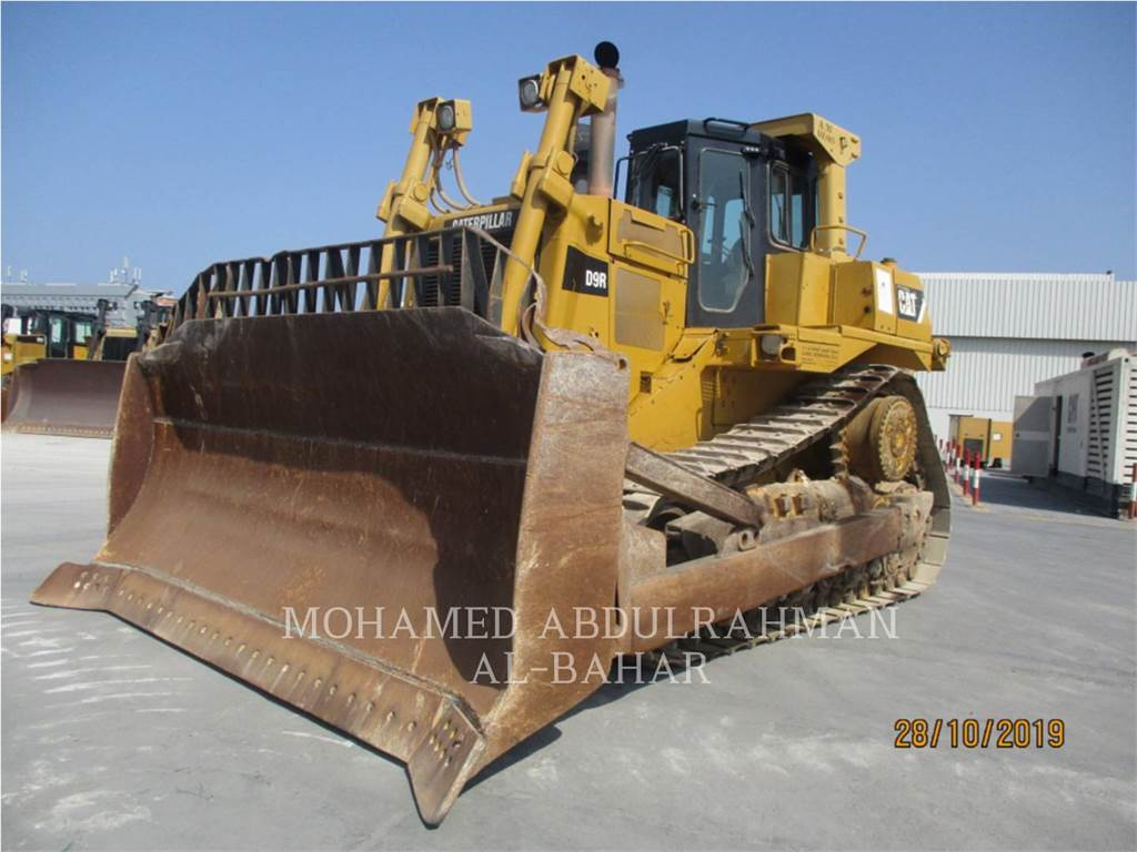 Caterpillar D9RLRC, Tratores de rastos, Equipamentos Construção