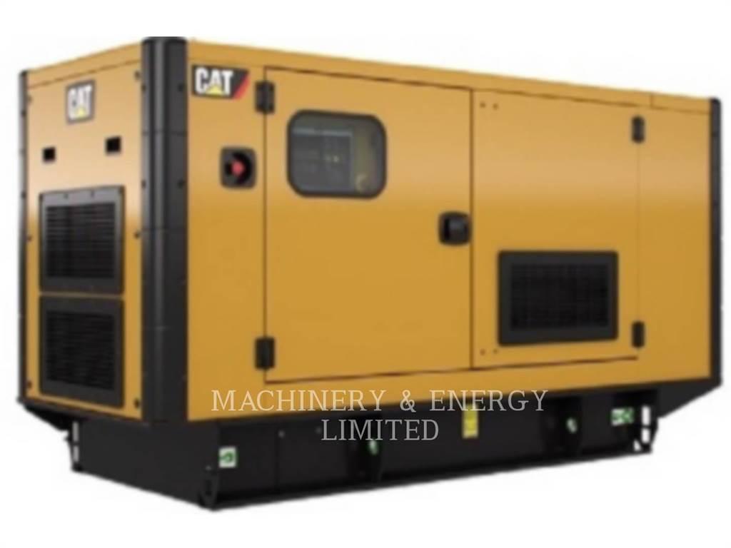 Caterpillar DE110E0、固定式発電機セット、建設