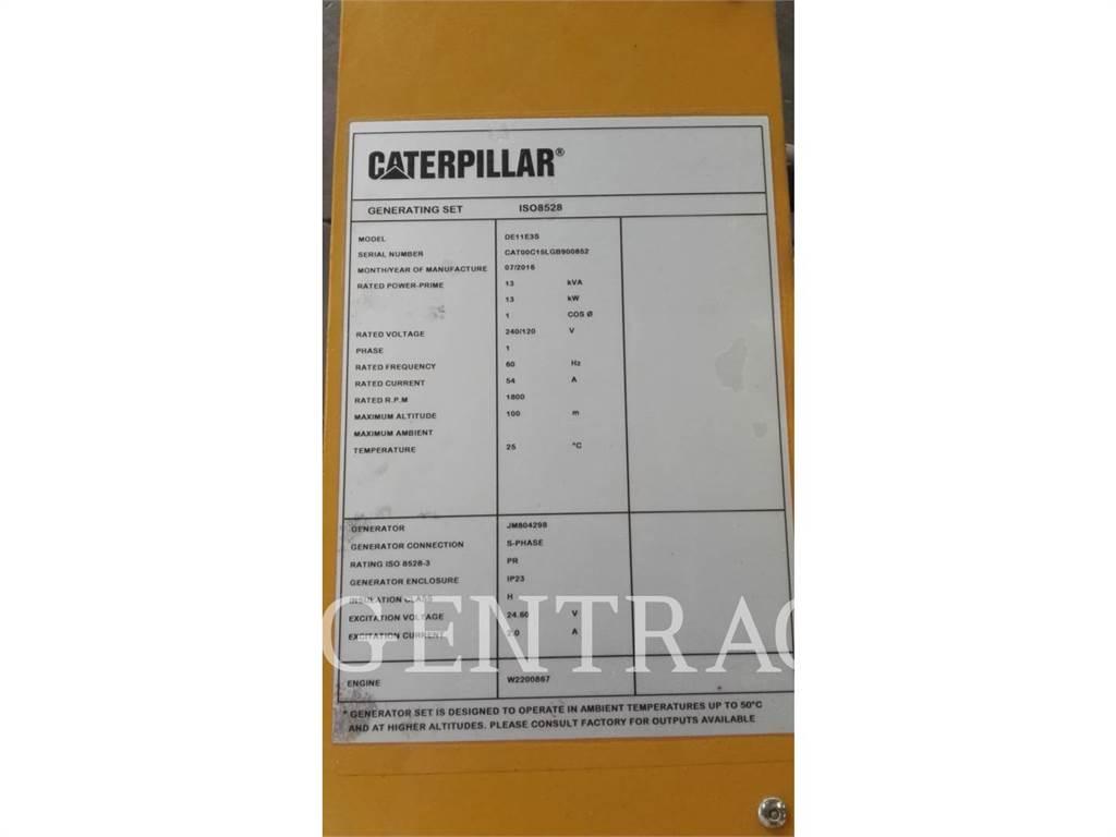 Caterpillar DE11E3S, Groupes électrogènes Stationnaires, Équipement De Construction
