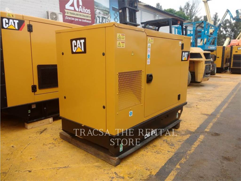 Caterpillar DE22, Stationary Generator Sets, Construction