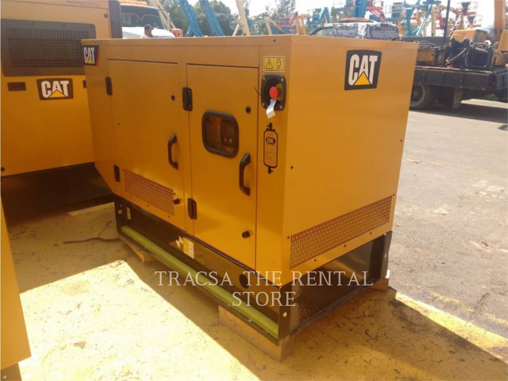 Caterpillar DE22, mobile generator sets, Construction
