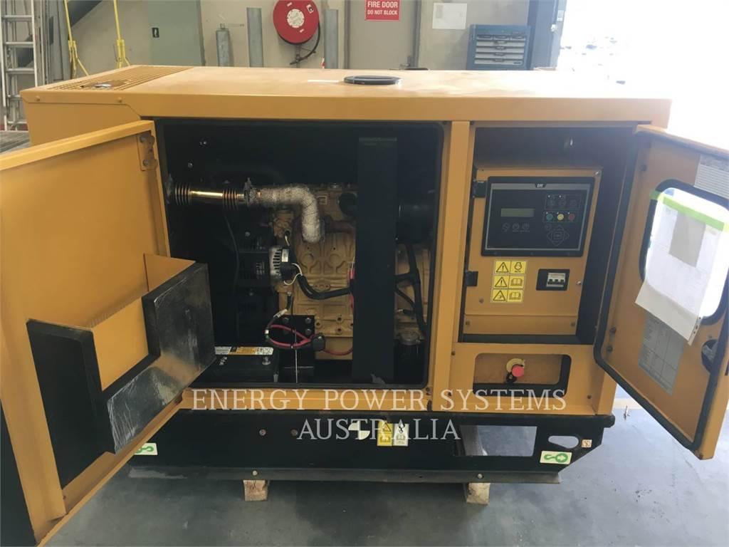 Caterpillar DE22E3, стационарные генераторные установки, Строительное