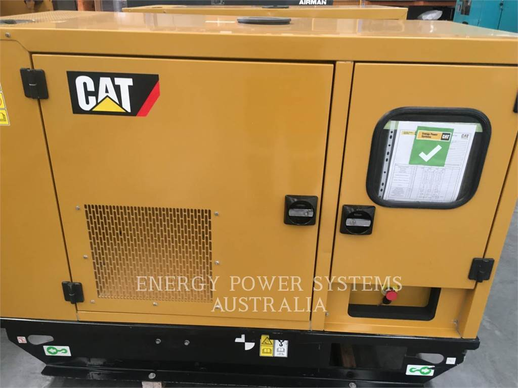 Caterpillar DE22E3, Stationary Generator Sets, Construction