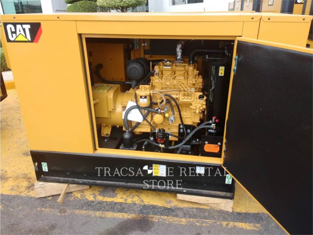 Caterpillar DE33, mobile generator sets, Construction
