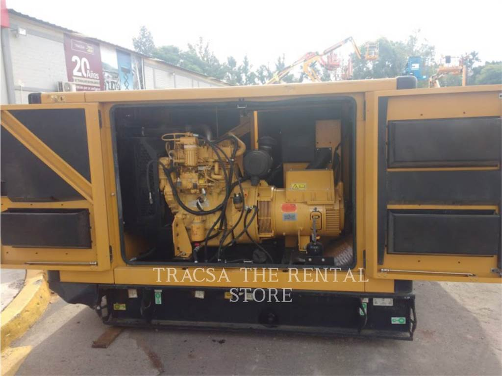 Caterpillar DE55, mobile generator sets, Construction