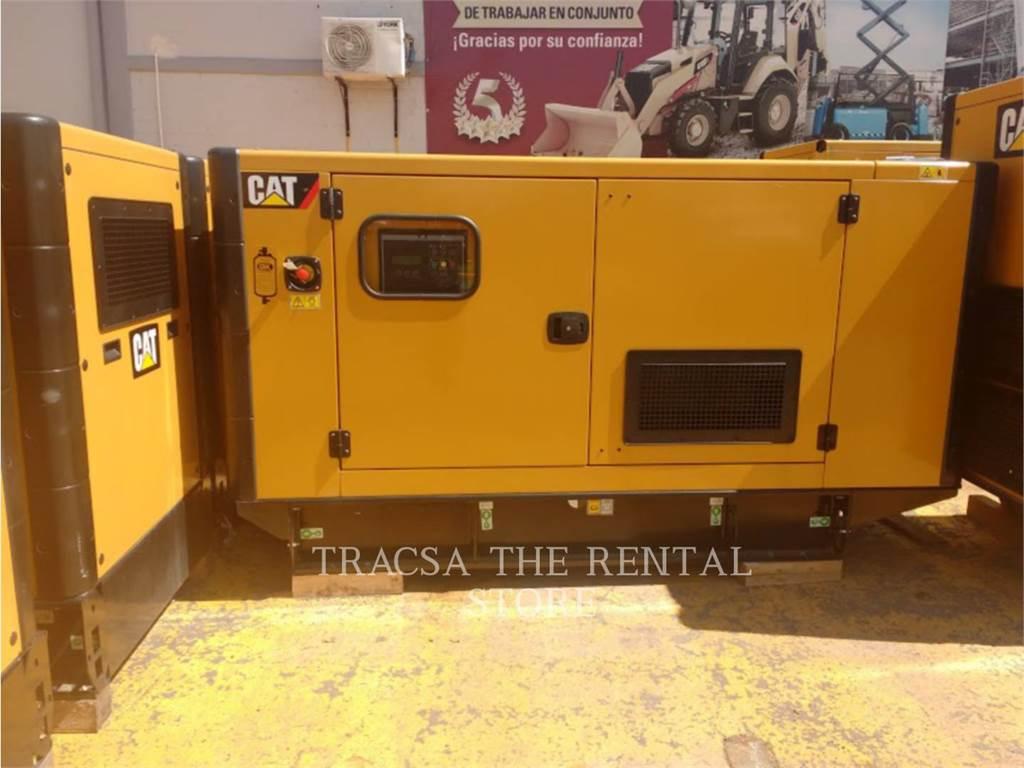 Caterpillar DE55, transportable stromaggregate, Bau-Und Bergbauausrüstung