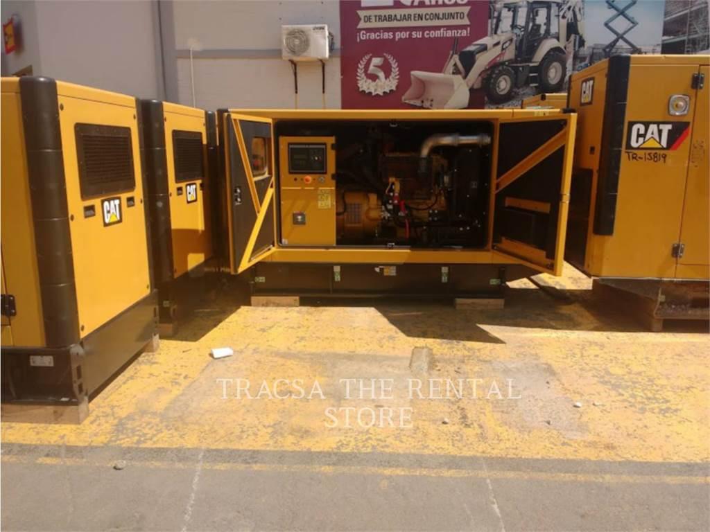 Caterpillar DE65, mobile generator sets, Construction