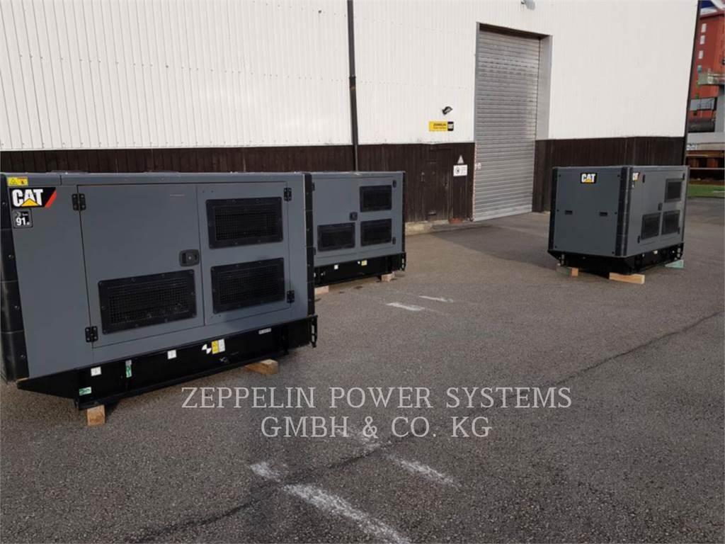 Caterpillar DE65 E3、移動式発電装置、建設