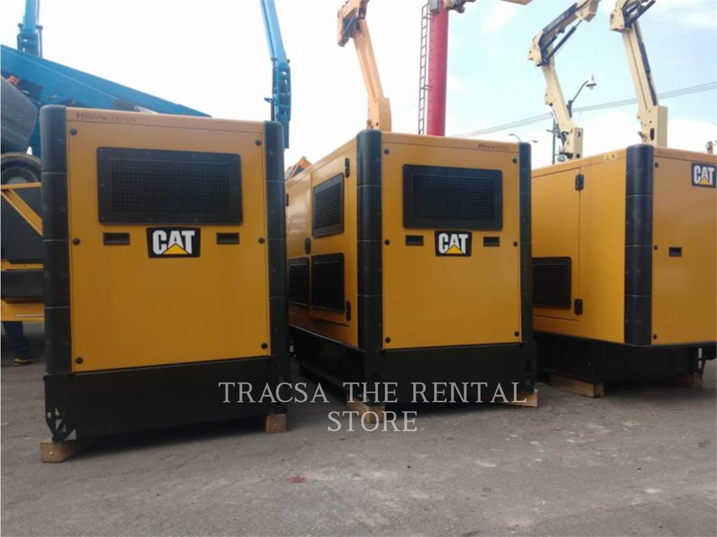 Caterpillar DE88, mobile generator sets, Construction