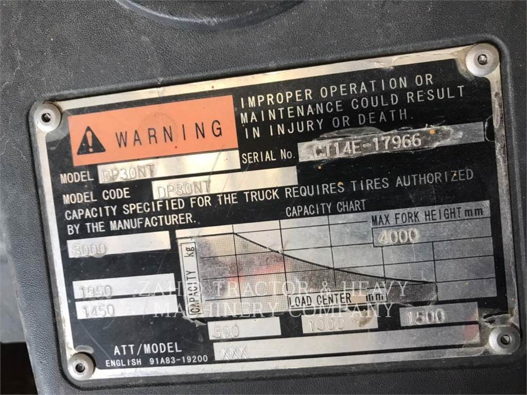 Caterpillar DP30NTD, Diesel Forklifts, Material Handling