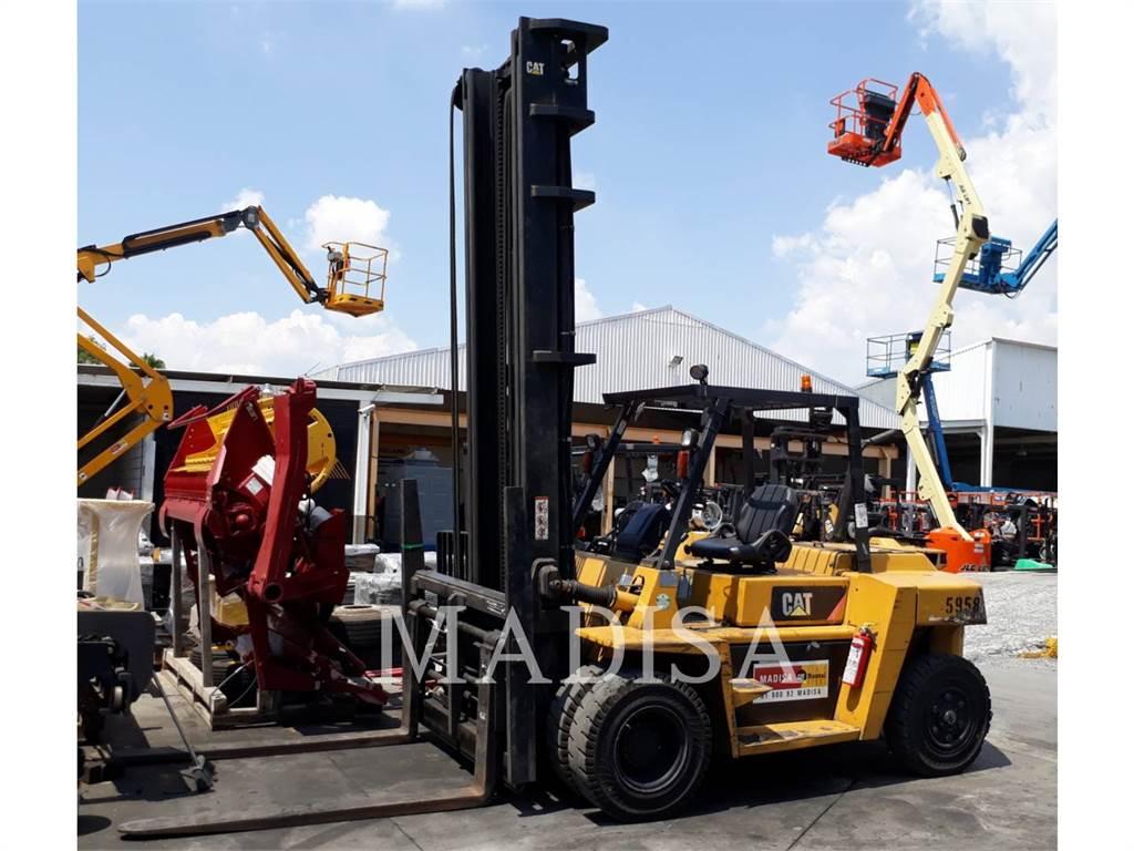 Caterpillar DP70, Diesel heftrucks, Laden en lossen