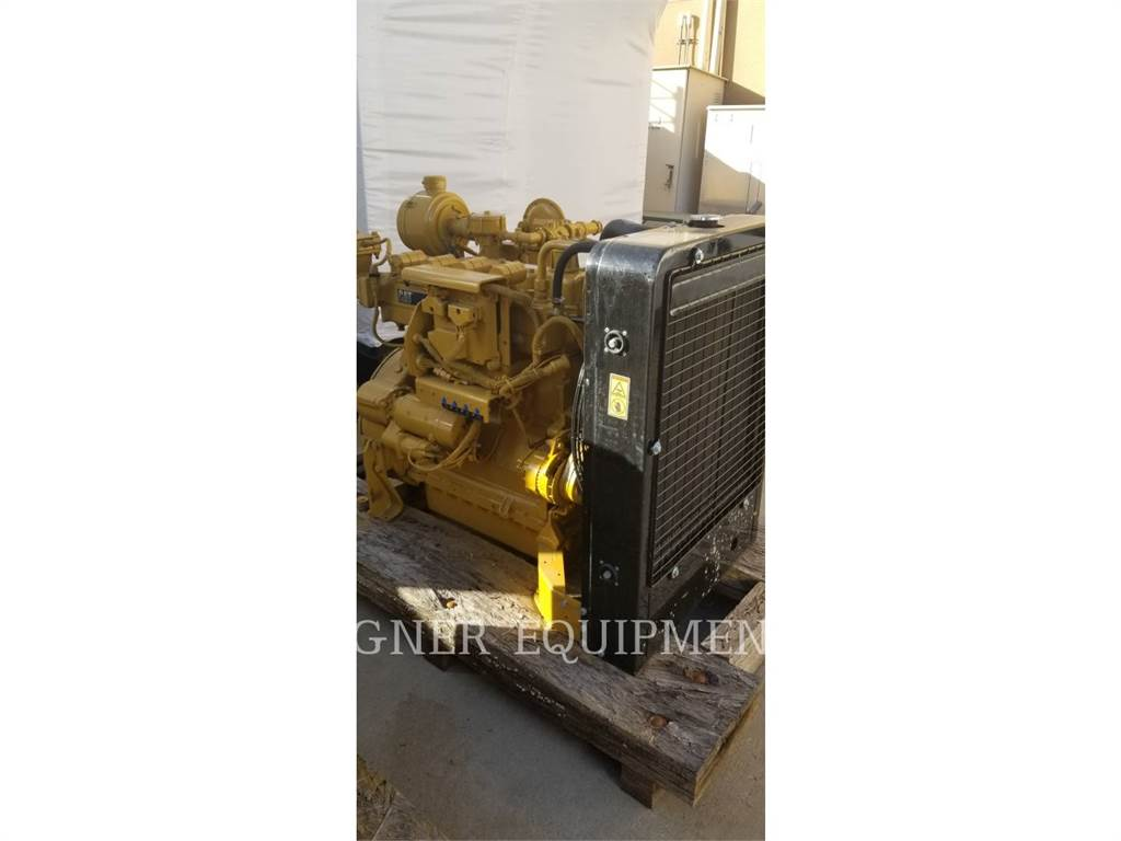 Caterpillar G3304B, Industrial engines, Construction