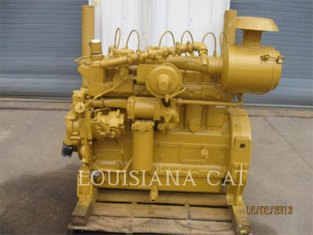 Caterpillar G3306, Petroleum Engines, Construction