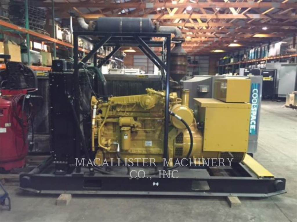 Caterpillar G3306, Stationary Generator Sets, Construction