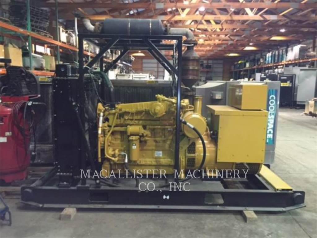 Caterpillar G3306, Stacjonarne Zestawy Generatorów, Sprzęt budowlany