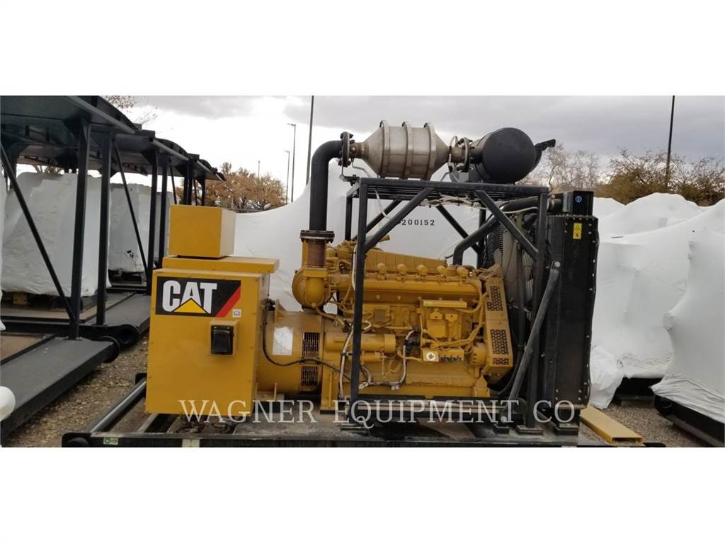 Caterpillar G3306B, Stationary Generator Sets, Construction
