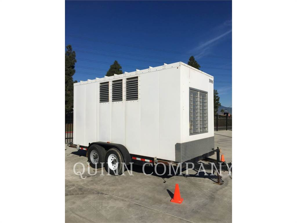 Caterpillar G3306TA, Stationary Generator Sets, Construction