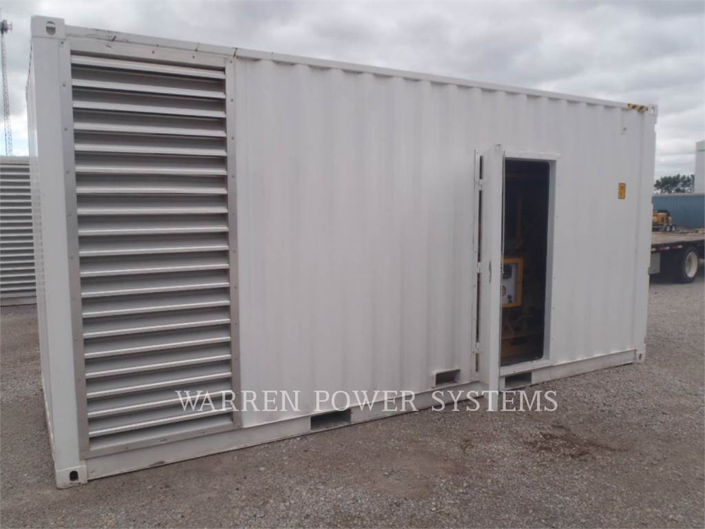 Caterpillar G3406 NA, Stationary Generator Sets, Construction