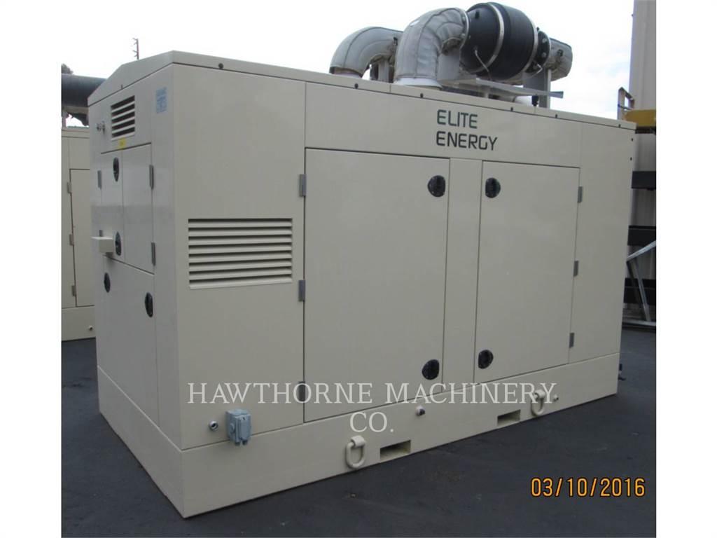Caterpillar G3406 SINA, Stationary Generator Sets, Construction