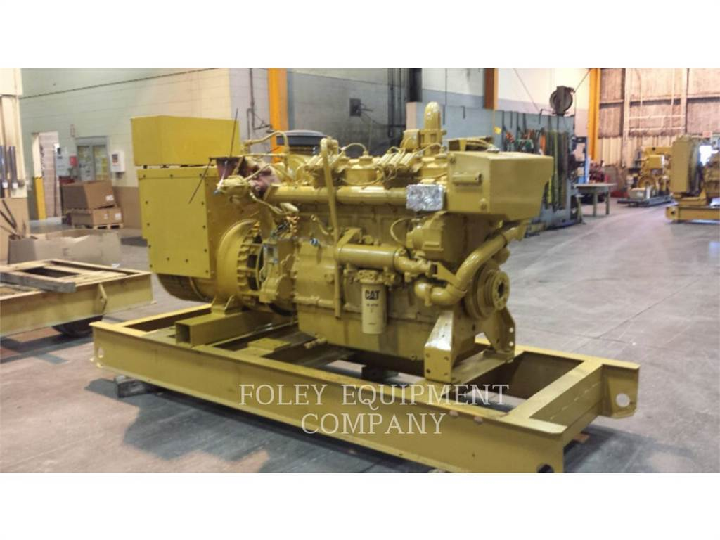 Caterpillar G3406EP, Stationary Generator Sets, Construction