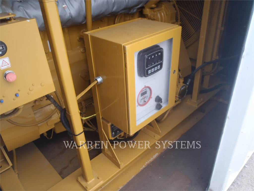 Caterpillar G3406NA, Stationary Generator Sets, Construction