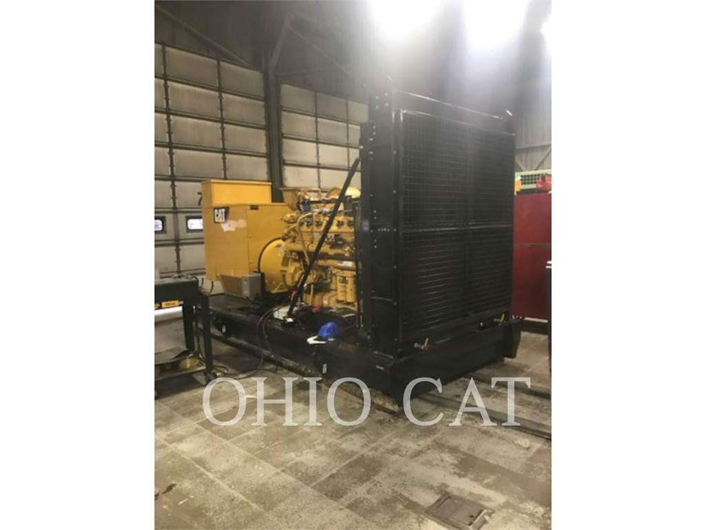 Caterpillar G3412, Stationary Generator Sets, Construction